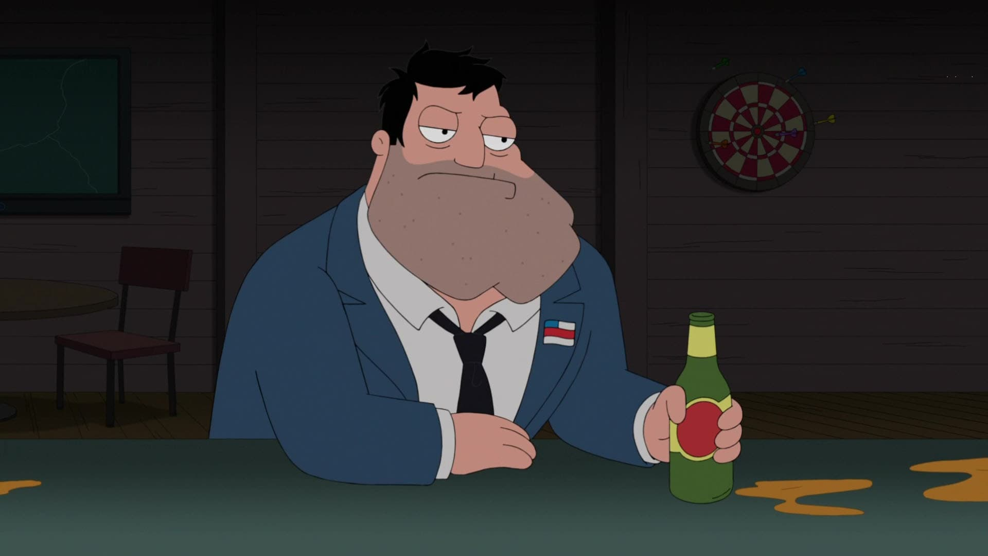 American Dad! Season 13 :Episode 20  Gifted Me Liberty