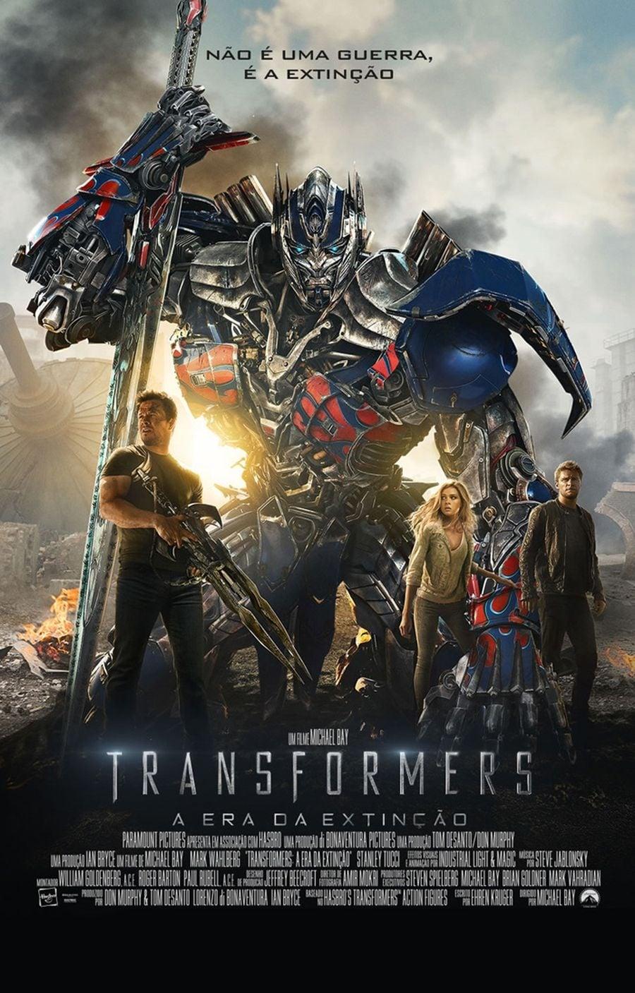 Imagem Transformers: A Era da Extinção