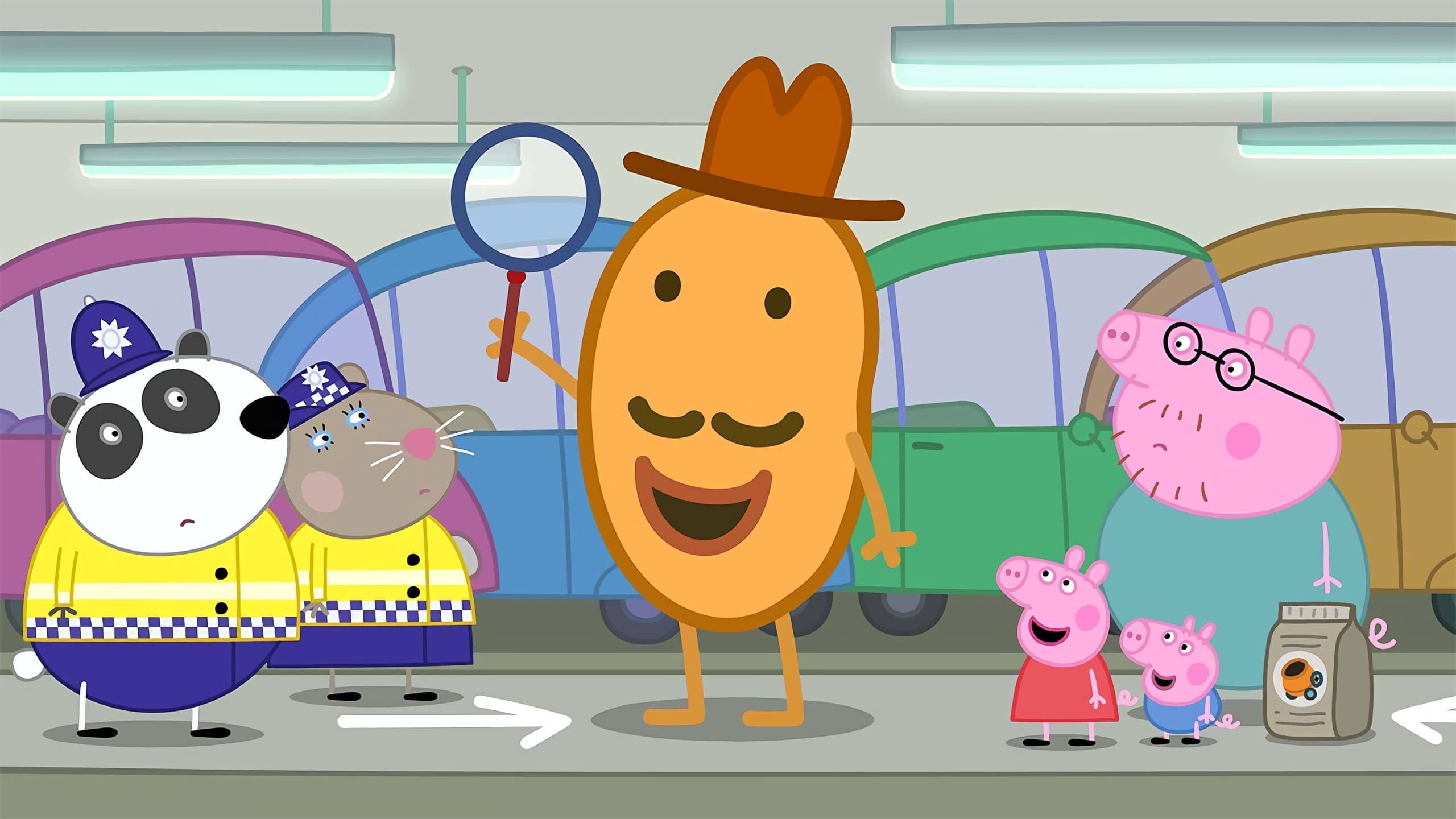 Peppa Pig Season 6 :Episode 38  Detective Potato