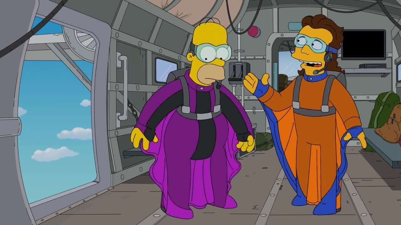 The Simpsons - Season 25 Episode 4 : YOLO (1970)