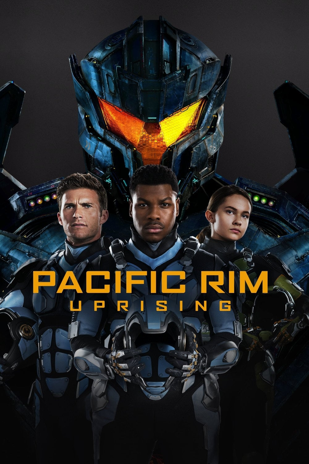 Pacific Rim: Uprising (2018) - Posters — The Movie ... Pacific Rim