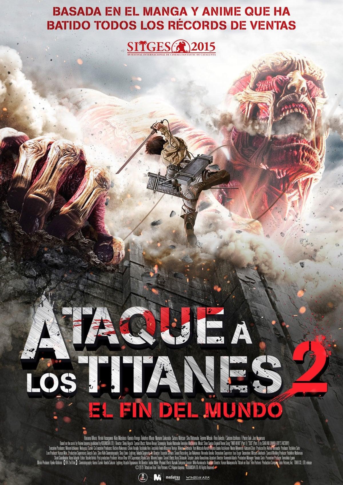Póster Ataque a los Titanes: El fin del mundo
