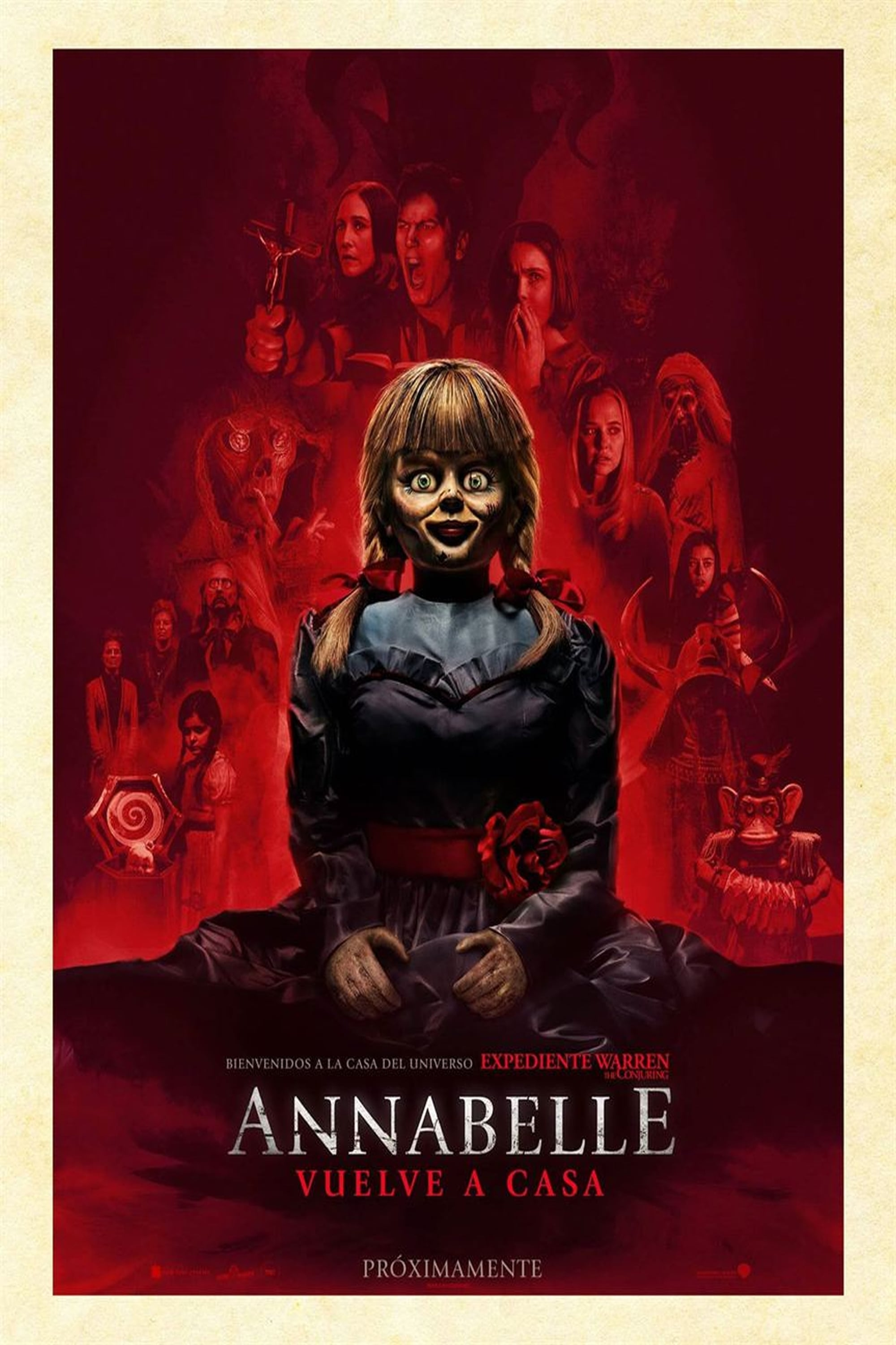 Poster and image movie Film Annabelle Comes Home - Anabele 3 -  2019