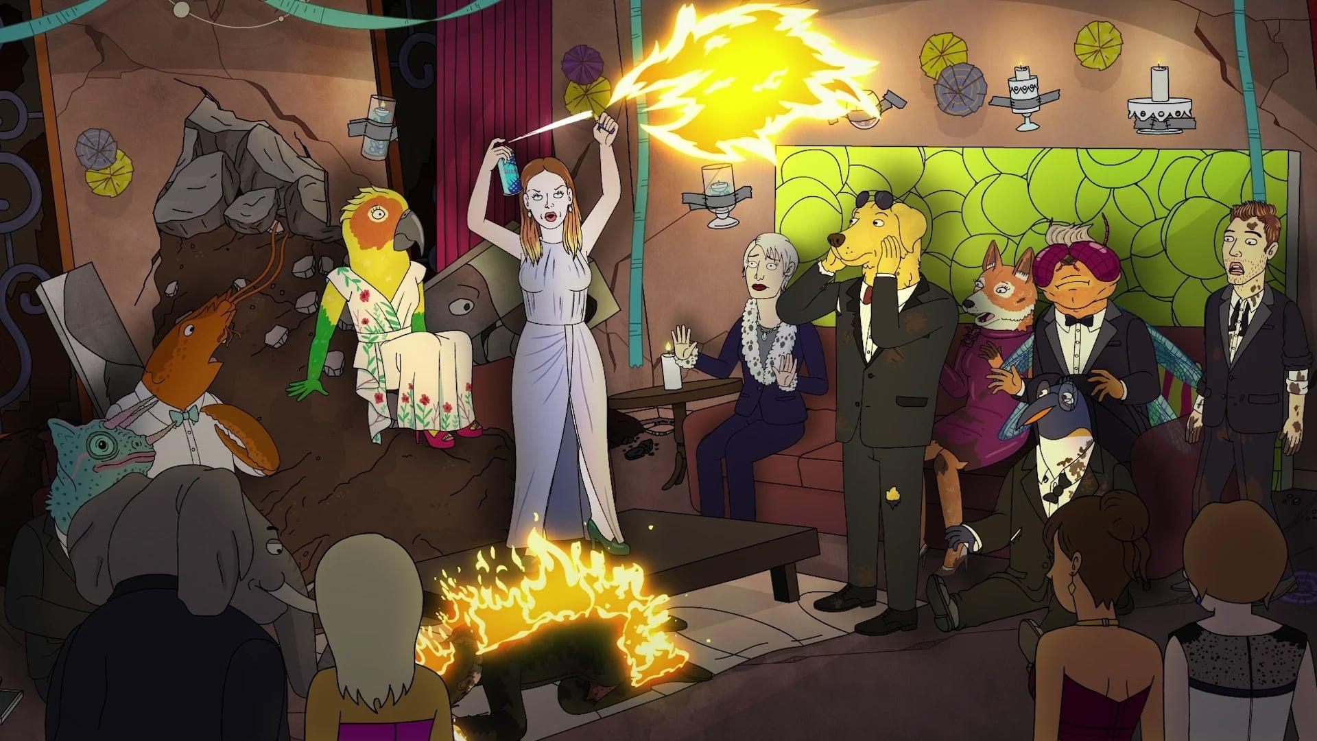 BoJack Horseman Season 4 :Episode 7  Underground
