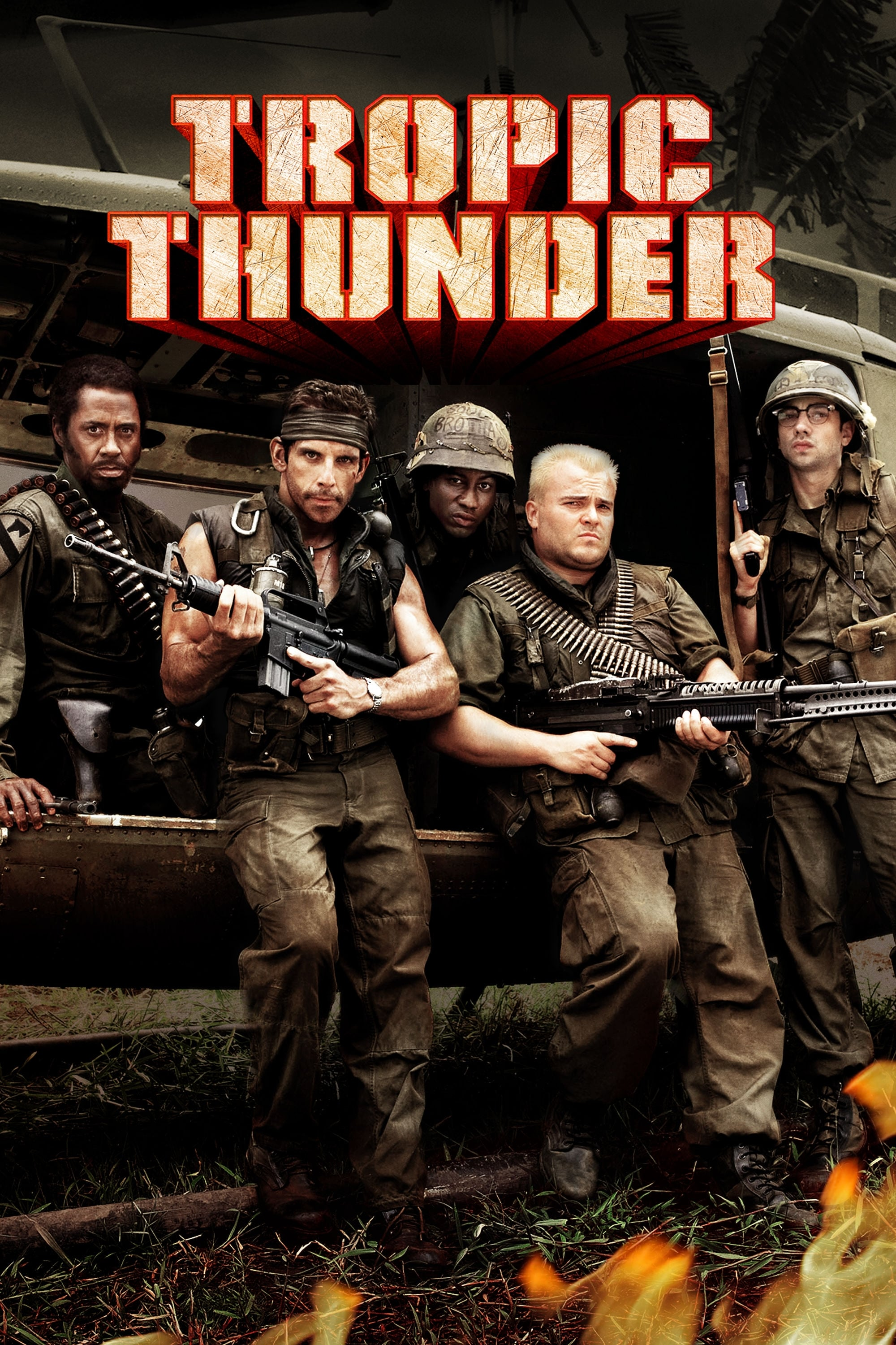 Tropic Thunder Stream English