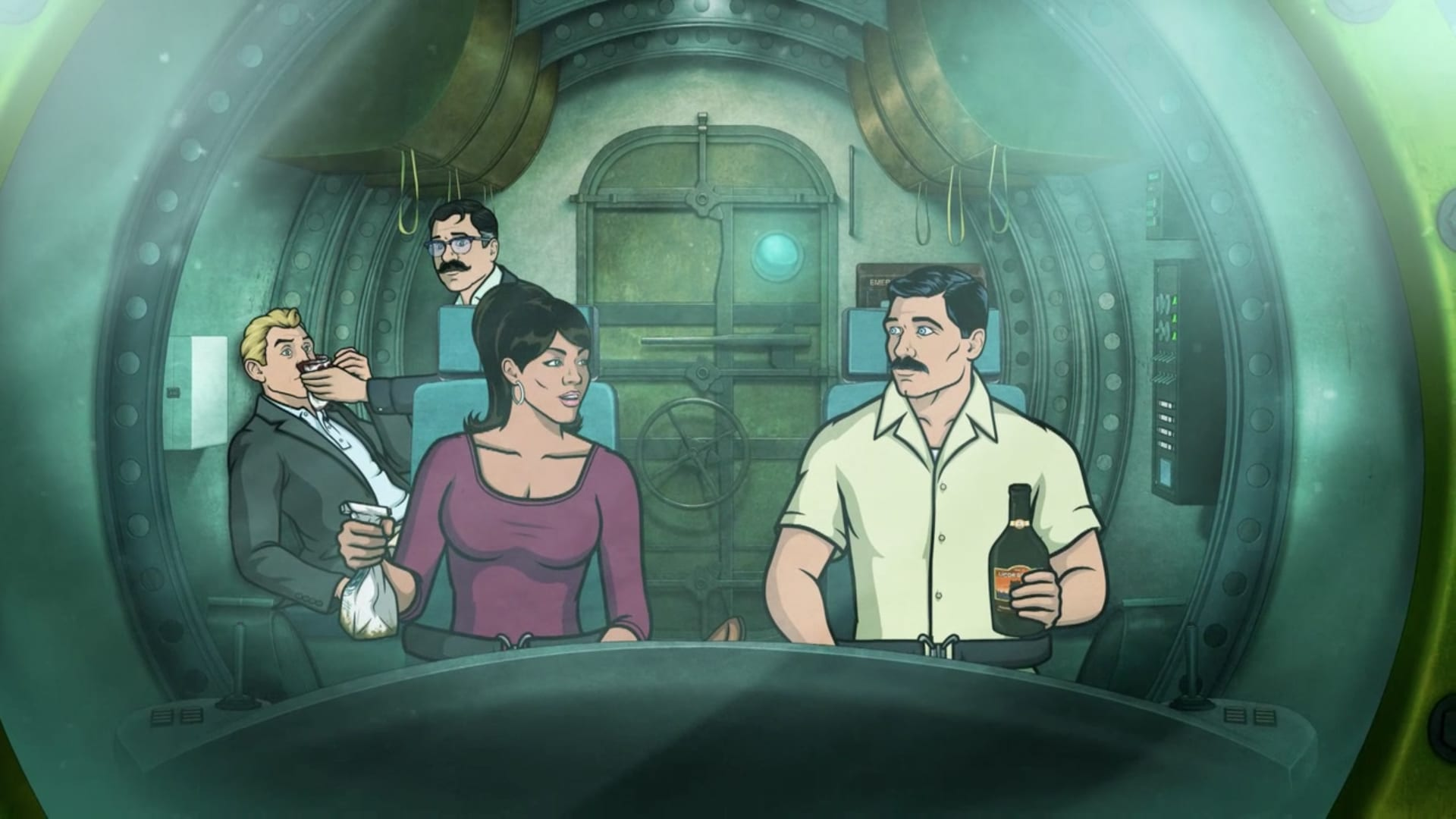 Archer Season 4 :Episode 13  Sea Tunt: Part 2