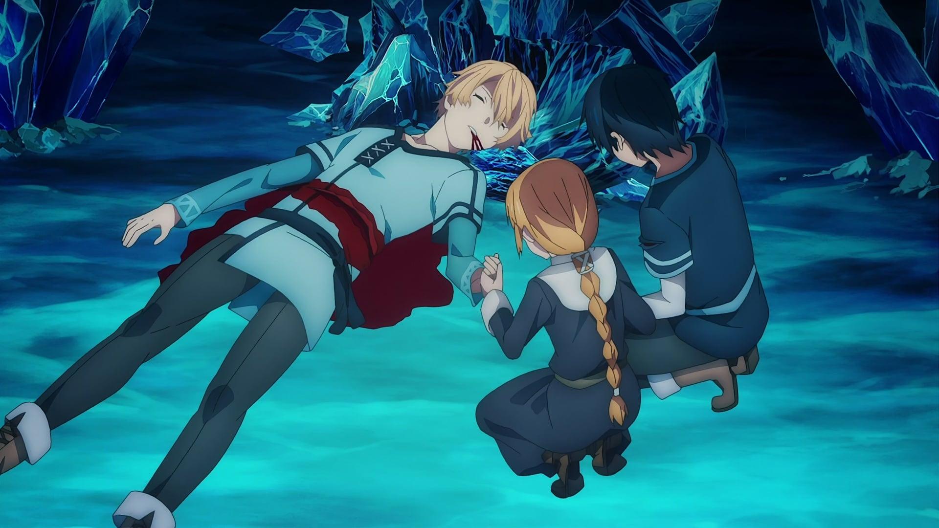 Sword Art Online Season 3 :Episode 4  Departure