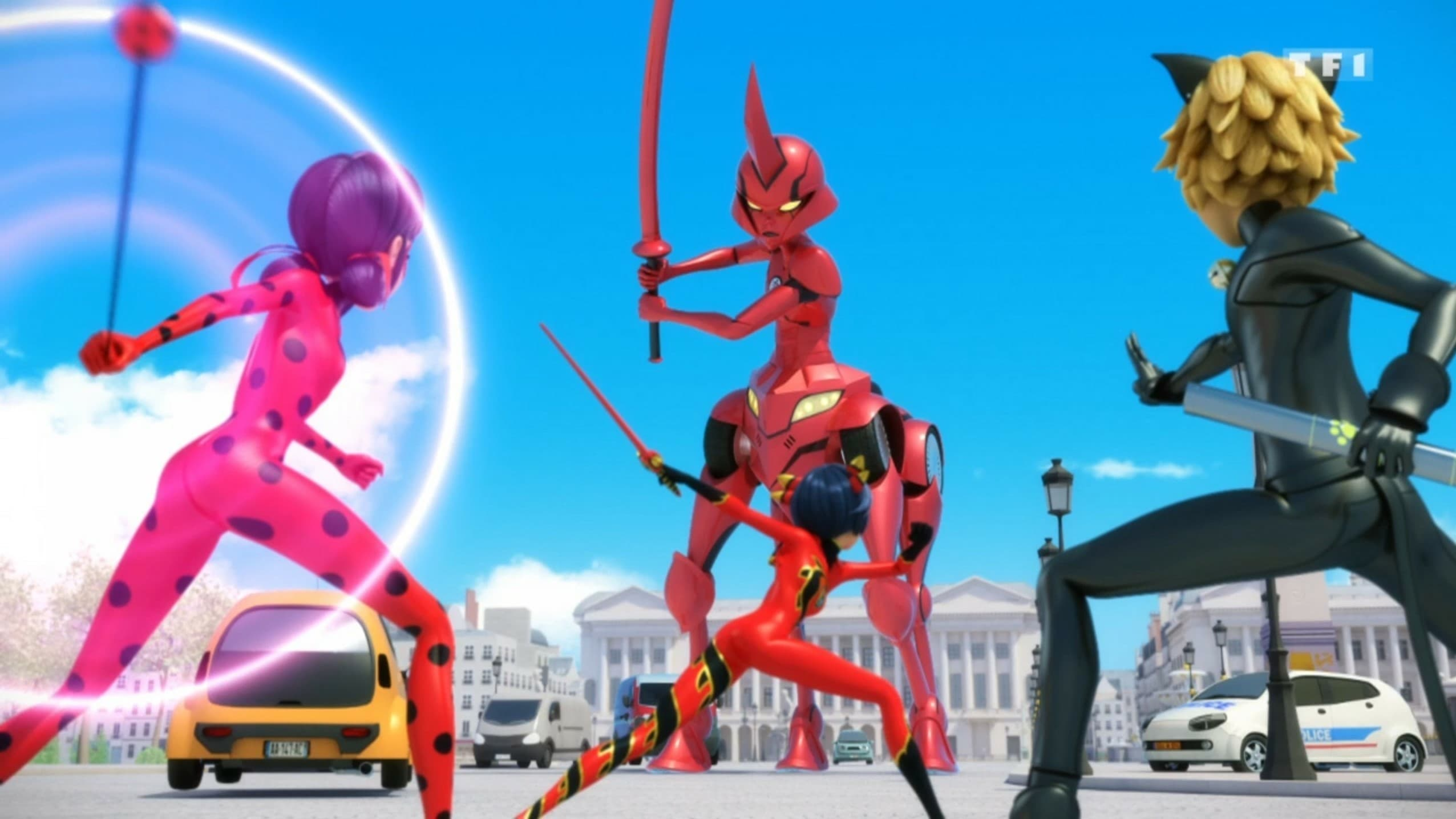 Miraculous: Tales of Ladybug & Cat Noir Season 3 :Episode 17  Ikari Gozen