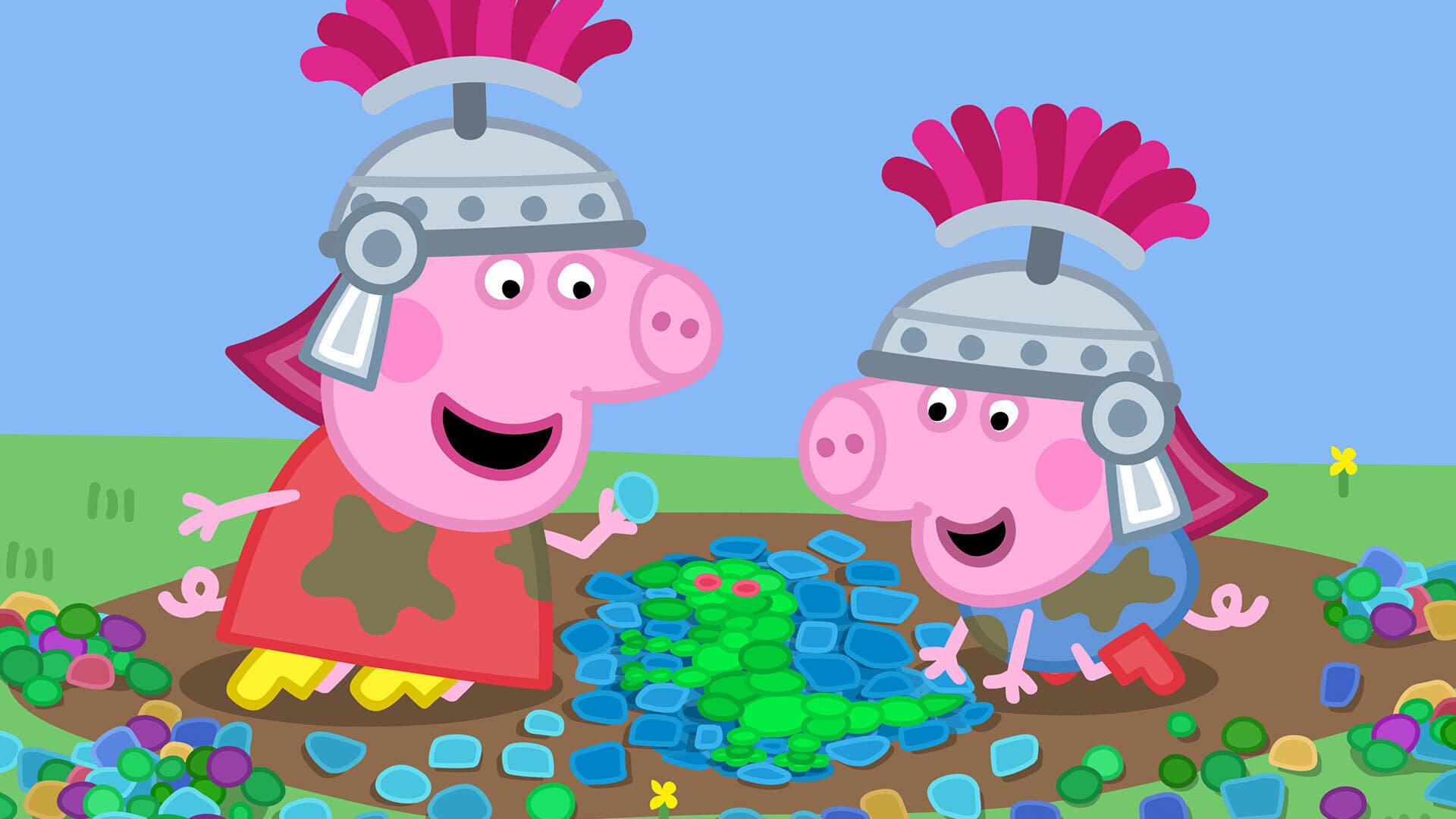 Peppa Pig Season 6 :Episode 21  Roman Day