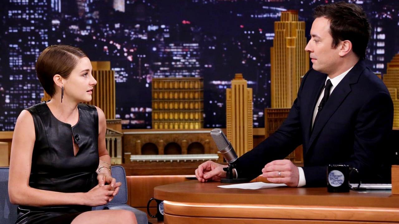 The Tonight Show Starring Jimmy Fallon Season 1 :Episode 18  Shailene Woodley, Artie Lange, Beck