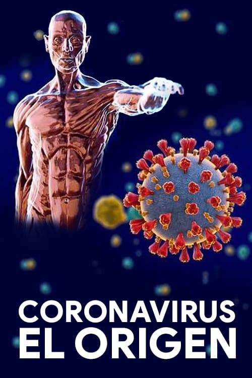 Poster diminuto de coronavirus el origen