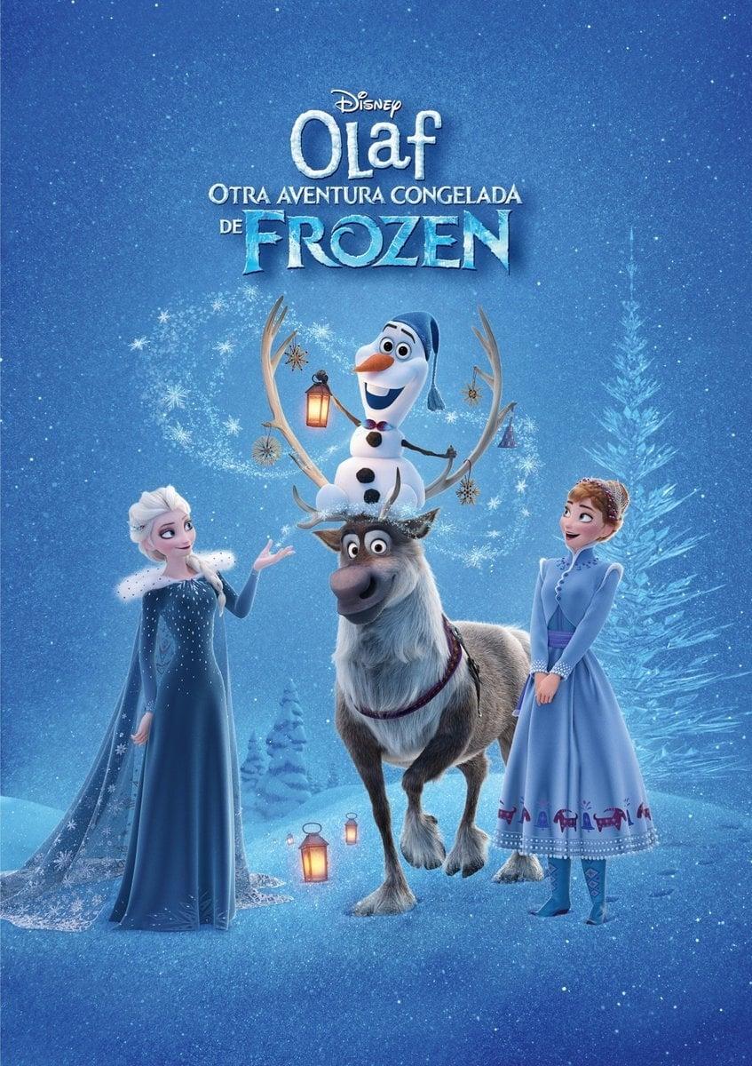 Póster Frozen: Una aventura de Olaf