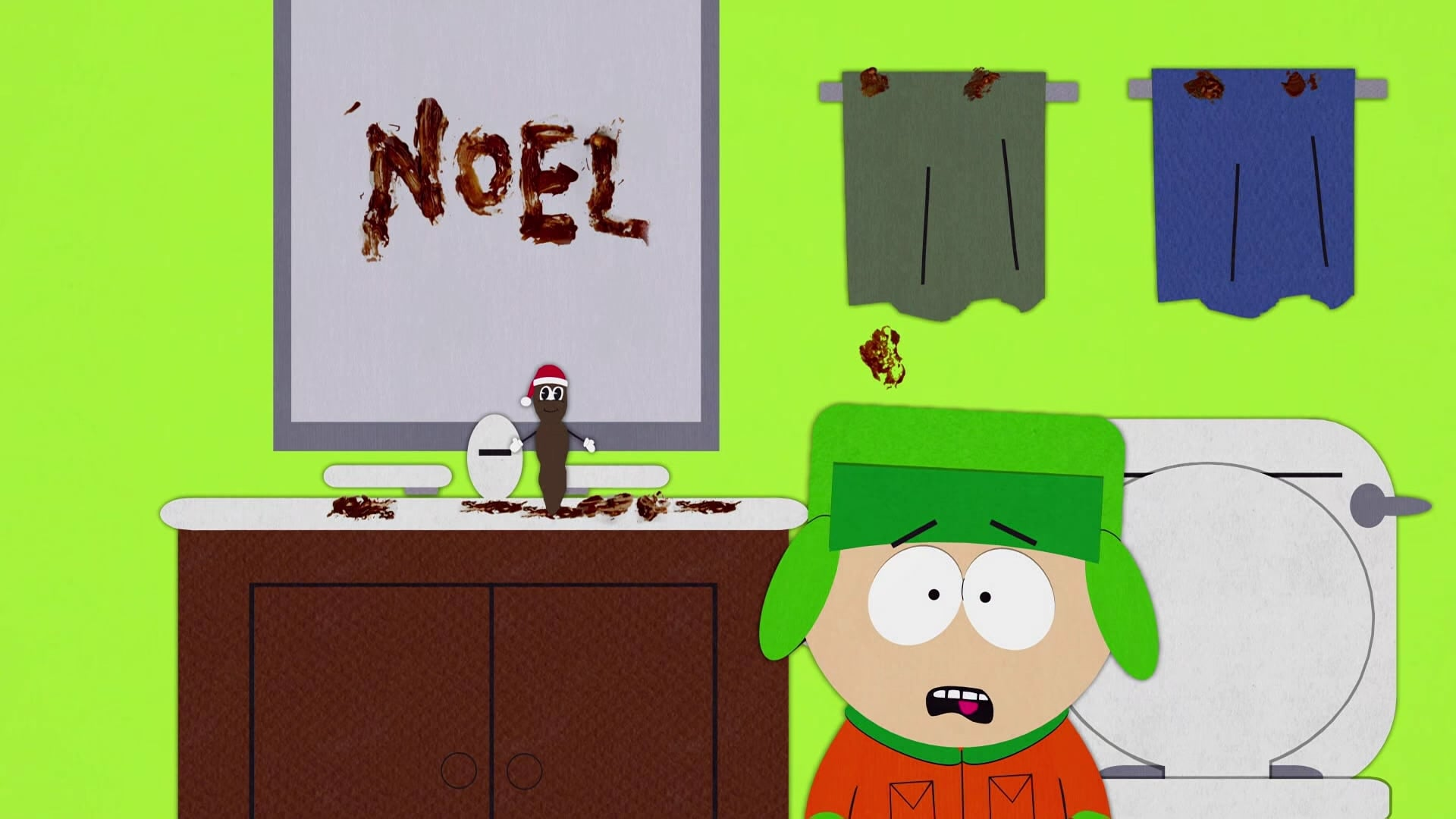 South Park Season 1 :Episode 9  Mr. Hankey, the Christmas Poo