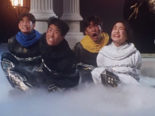 Super Sentai Season 18 :Episode 43  The Heavenly Triad's Final Day