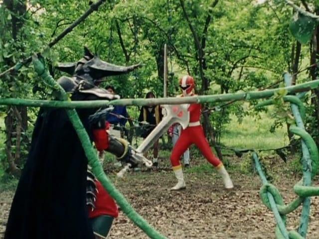 Super Sentai Season 14 :Episode 15  Two Reds!!