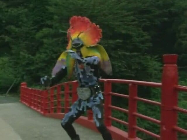 Kamen Rider Season 1 :Episode 32  Cannibalism Flower, Dokudalian