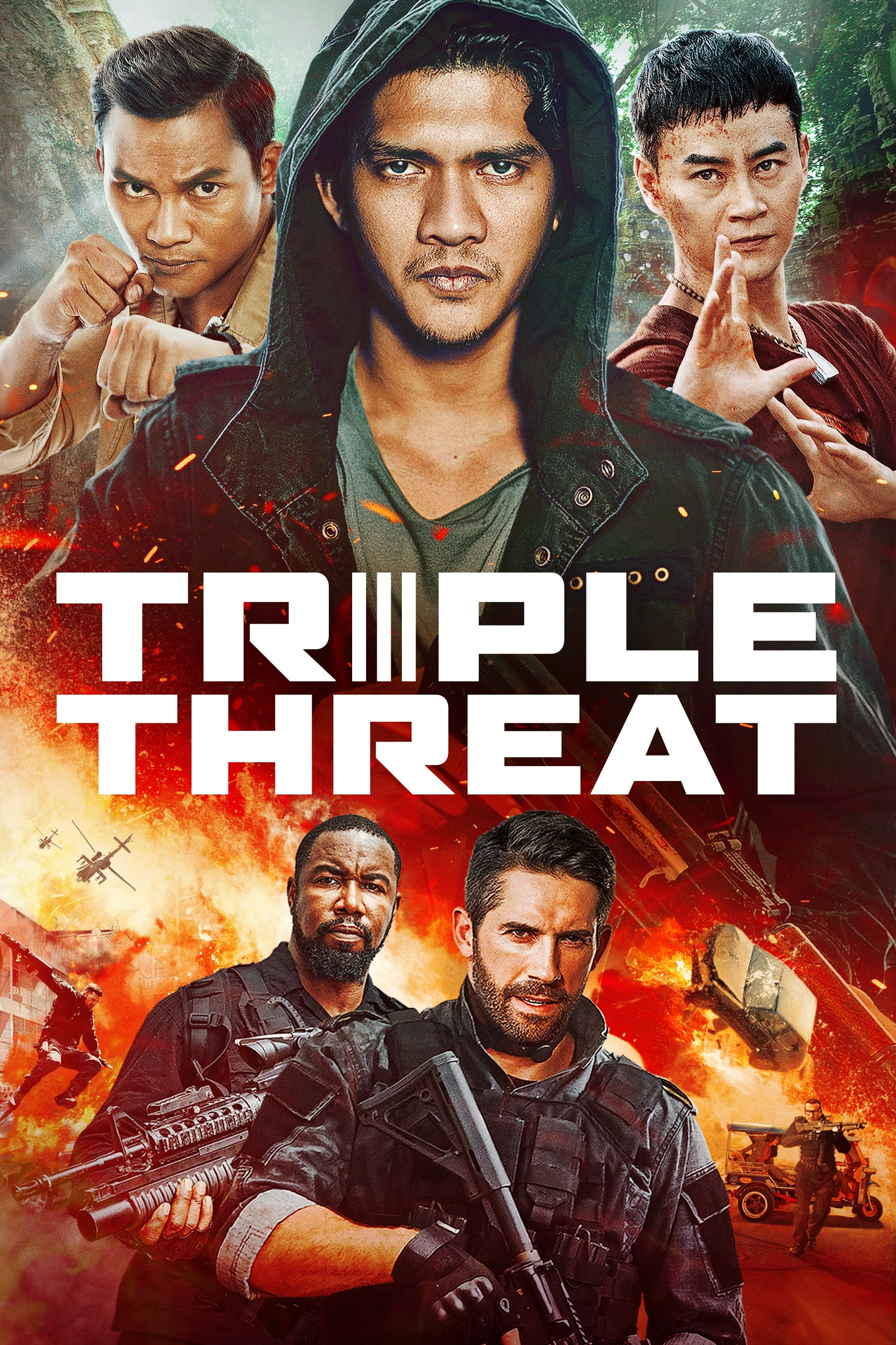 Triple Threat Stream German
