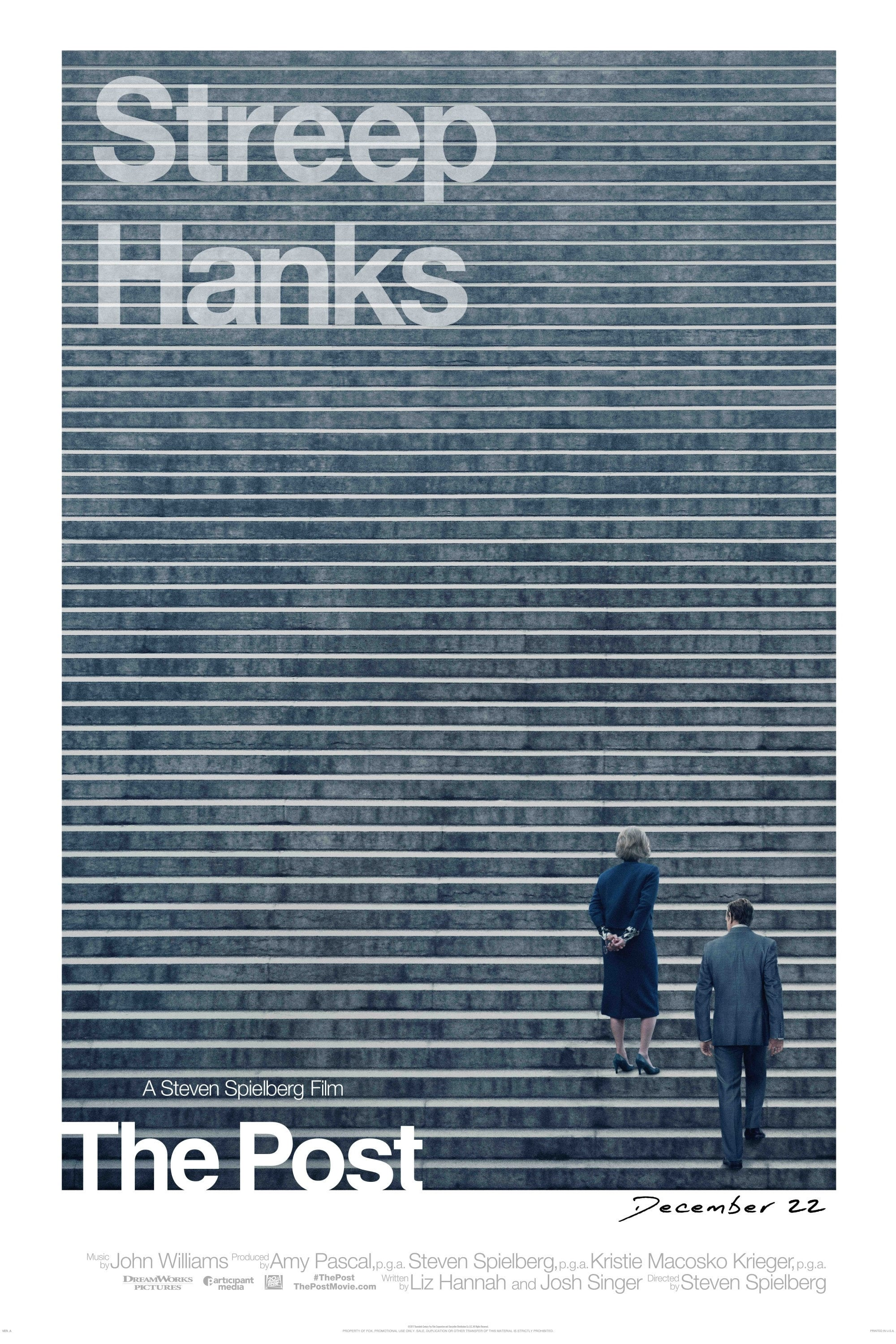 Poster and image movie Film The Post - The Post - The Post -  2017