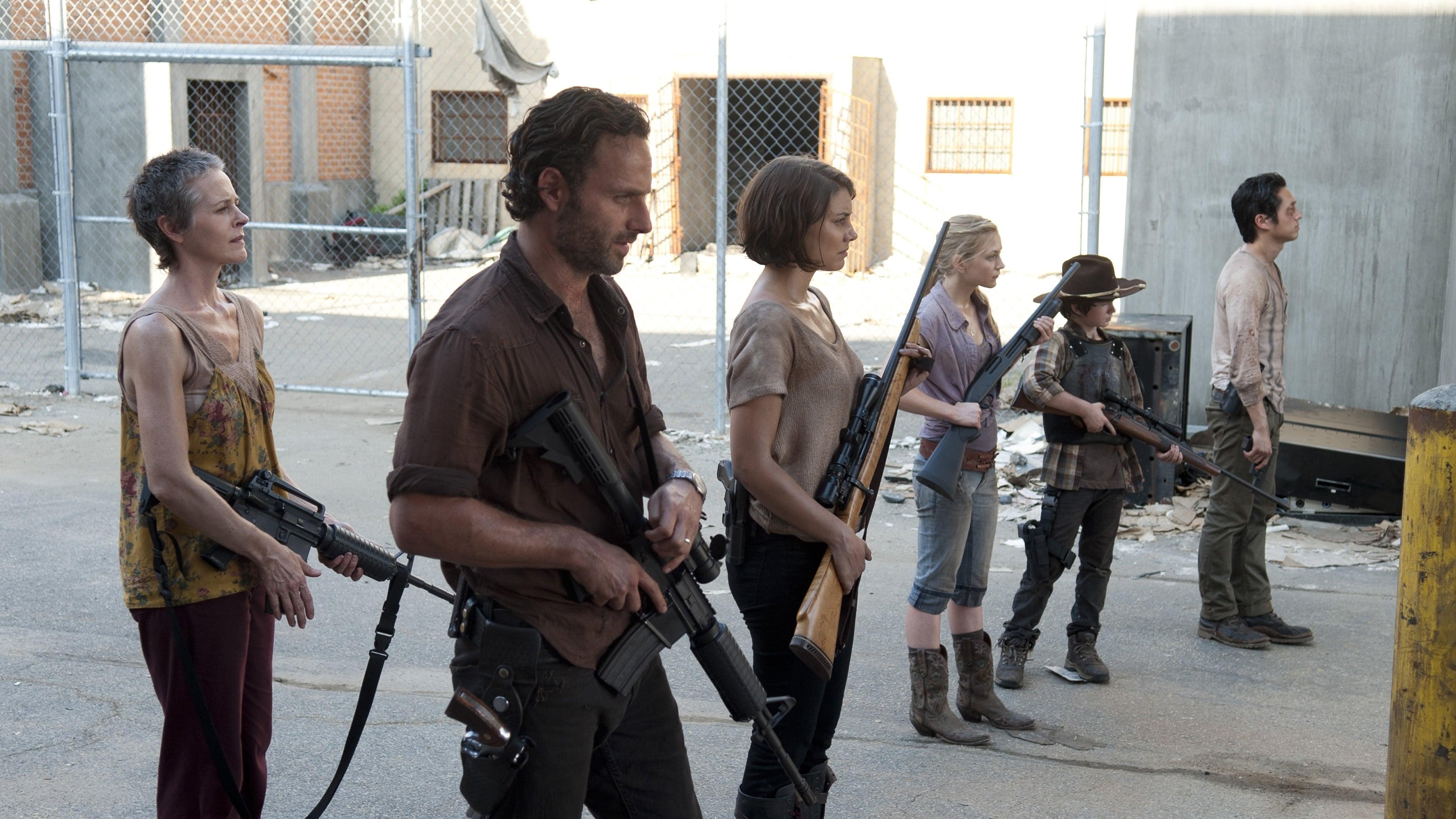 The Walking Dead Season 3 :Episode 11  I Ain't a Judas