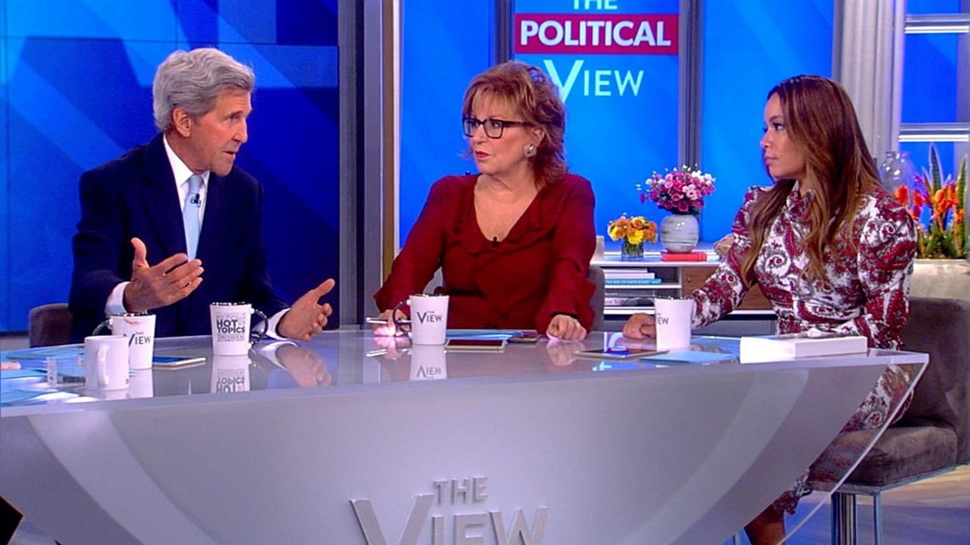 The View Season 22 :Episode 2  John Kerry