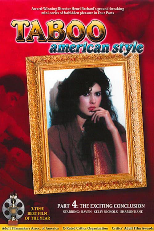 TABOO AMERICAN STYLE Raven Taija Rae RATED X Adult 1985