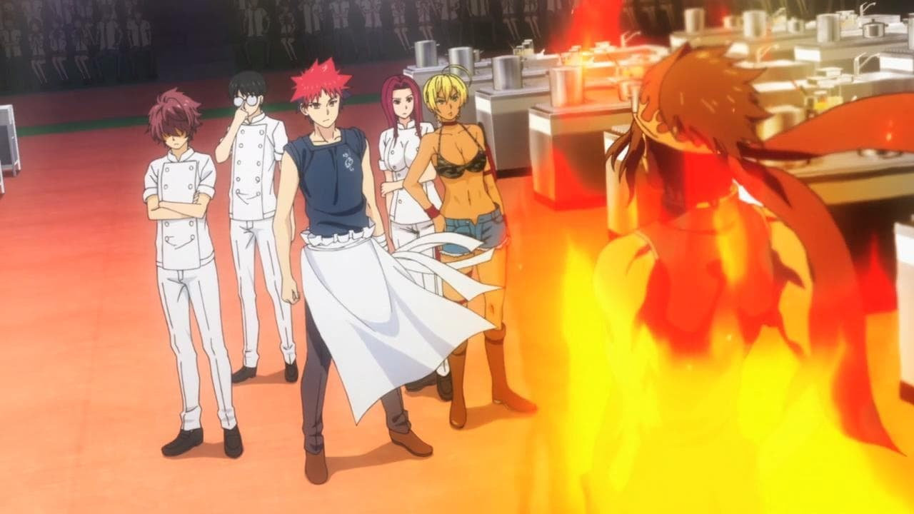 Food Wars! Season 1 :Episode 23  The Unfolding Individual Competitions