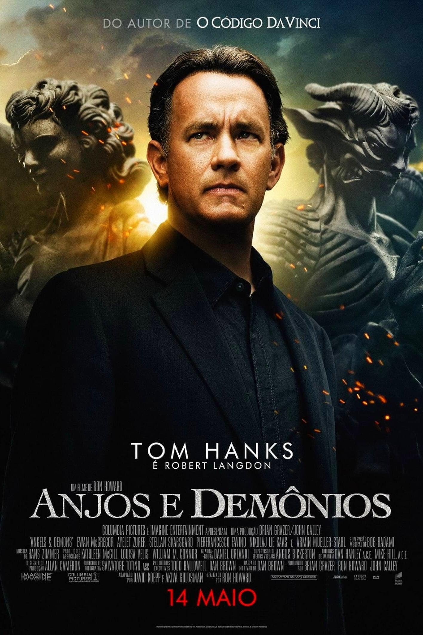 capa Anjos e Demônios