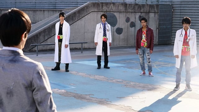 Kamen Rider Season 27 :Episode 11  Who's the Black Kamen Rider?