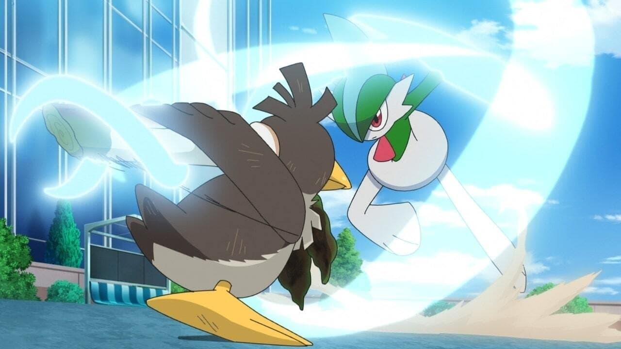 Pokémon Season 24 :Episode 12  Beyond Chivalry... Aiming to be a Leek Master