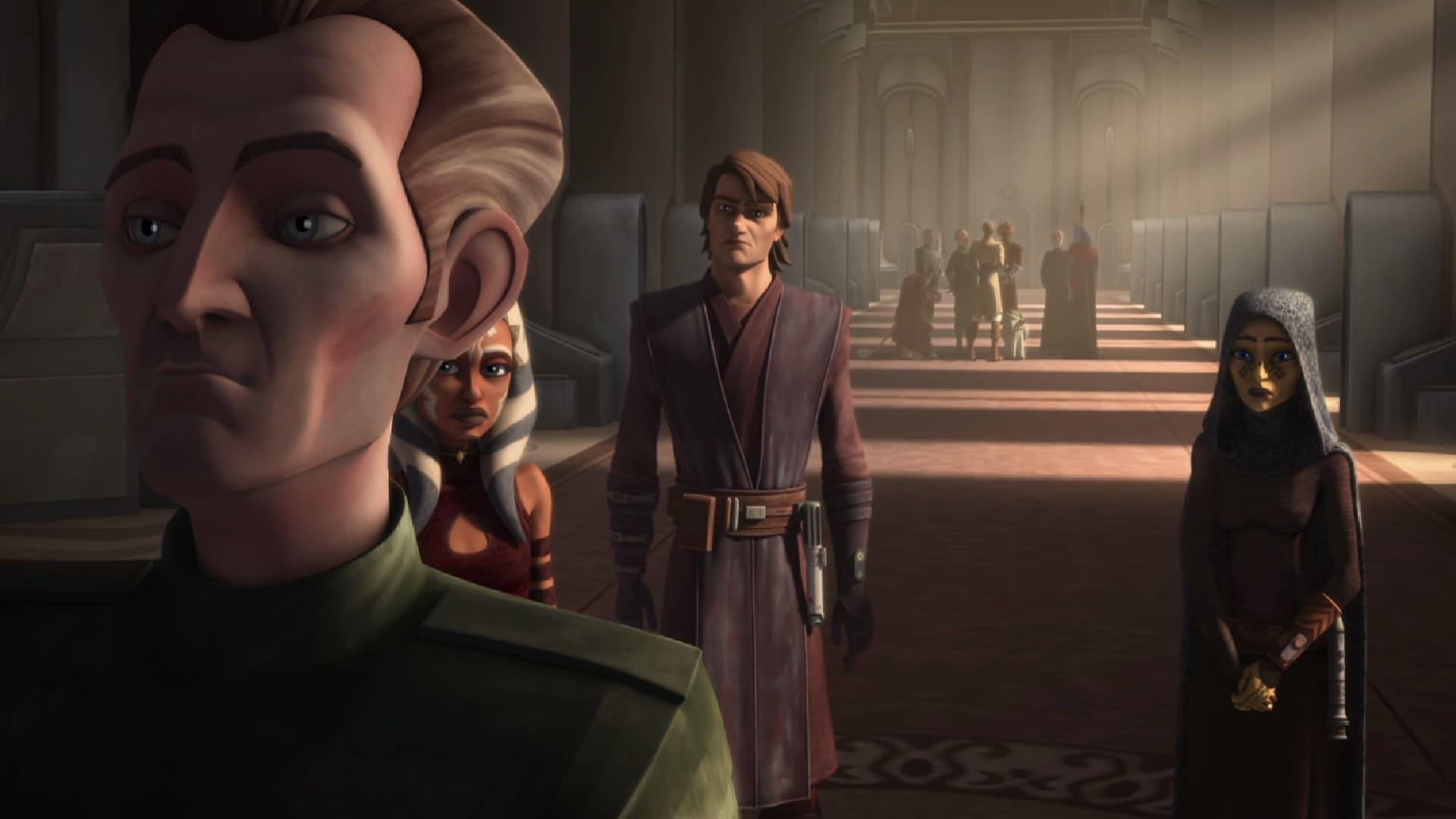 Star Wars: The Clone Wars Season 5 :Episode 18  The Jedi Who Knew Too Much