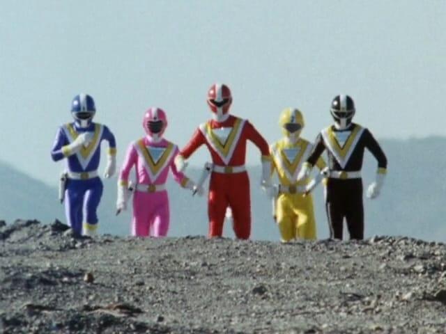 Super Sentai Season 14 :Episode 1  The Five Sibling Warriors