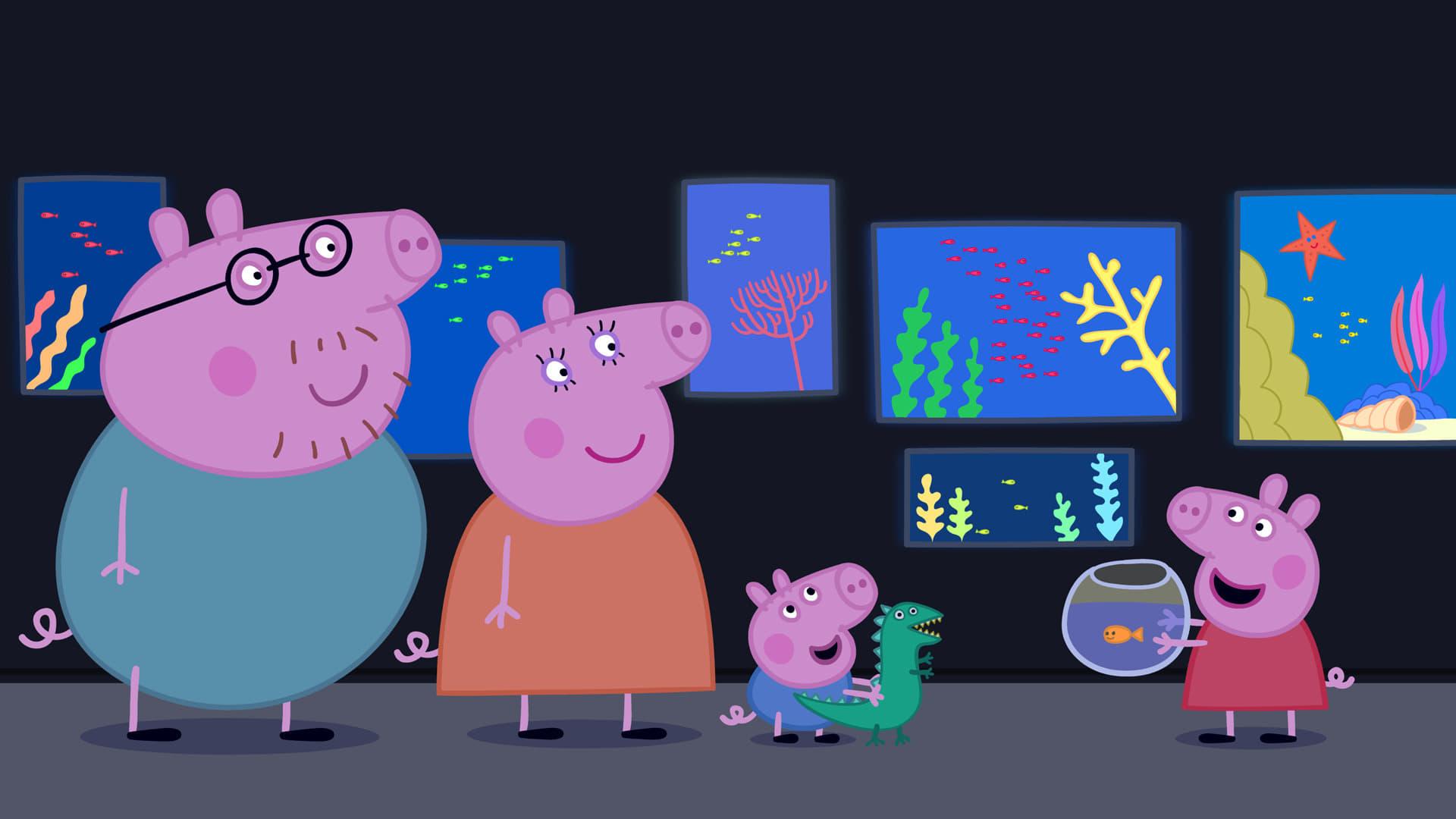 Peppa Pig Season 4 :Episode 31  The Aquarium