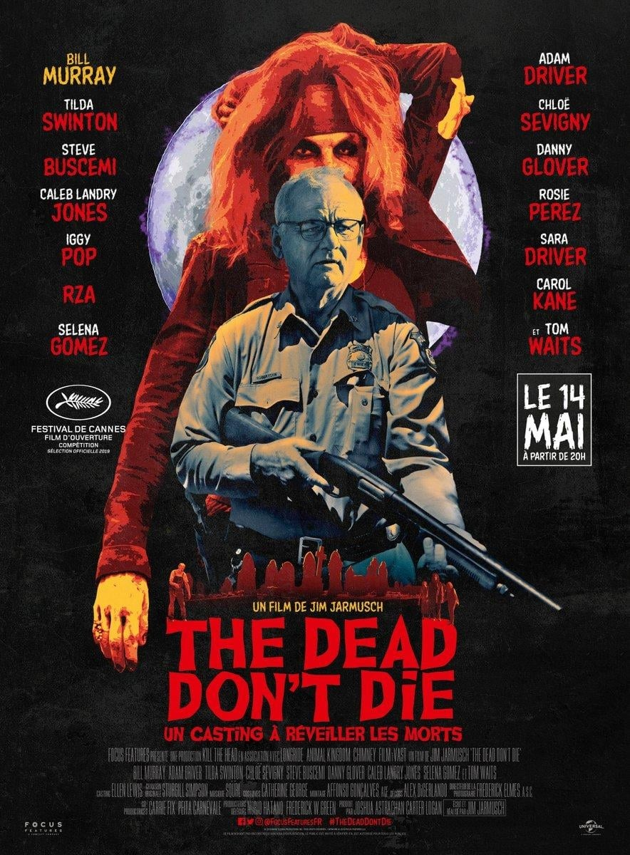 Poster and image movie Film The Dead Don't Die - The Dead Don't Die -  2019