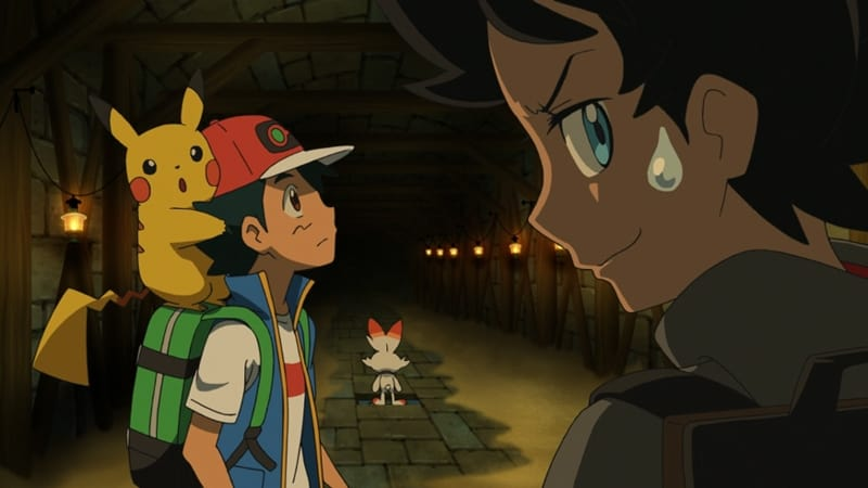 Pokémon Season 23 :Episode 14  Raid Battle in The Ruins!