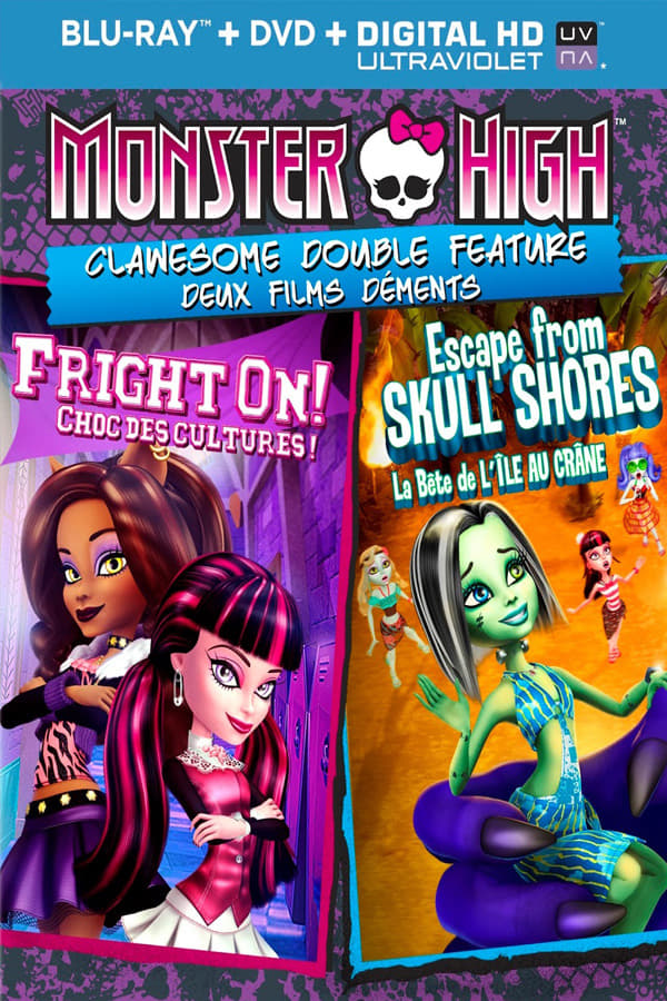 Monster High Double Feature - Friday Night Frights / Why Do Ghouls Fall in Love? (2013)