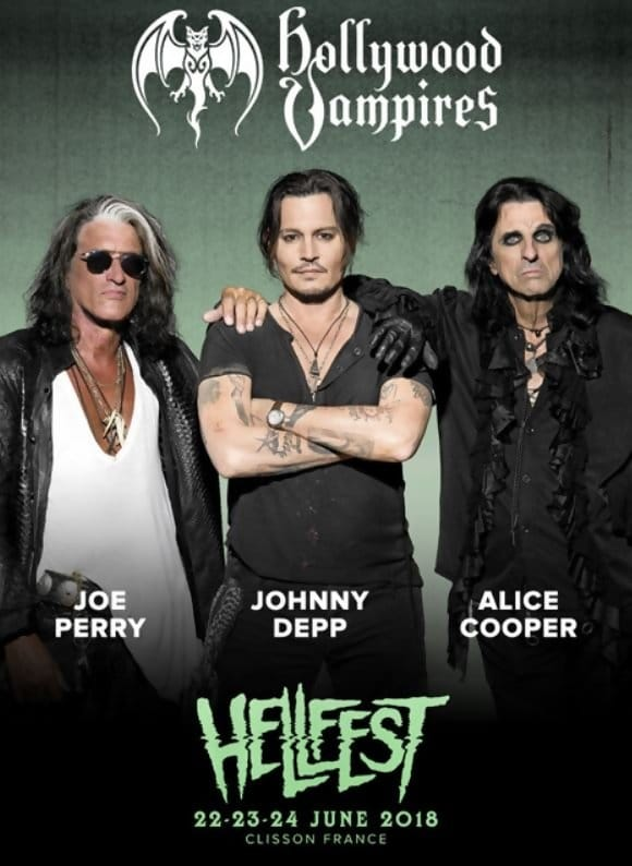 Hollywood Vampires Live at Hellfest 2018 (2018)