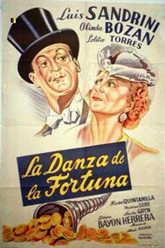 Ver La danza de la fortuna Online HD Español (1944)