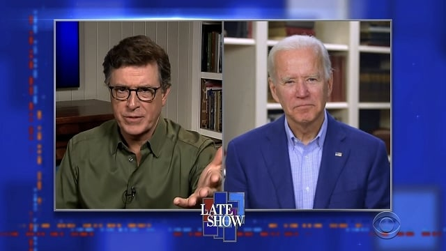 The Late Show with Stephen Colbert Season 5 :Episode 137  Vice President Joe Biden