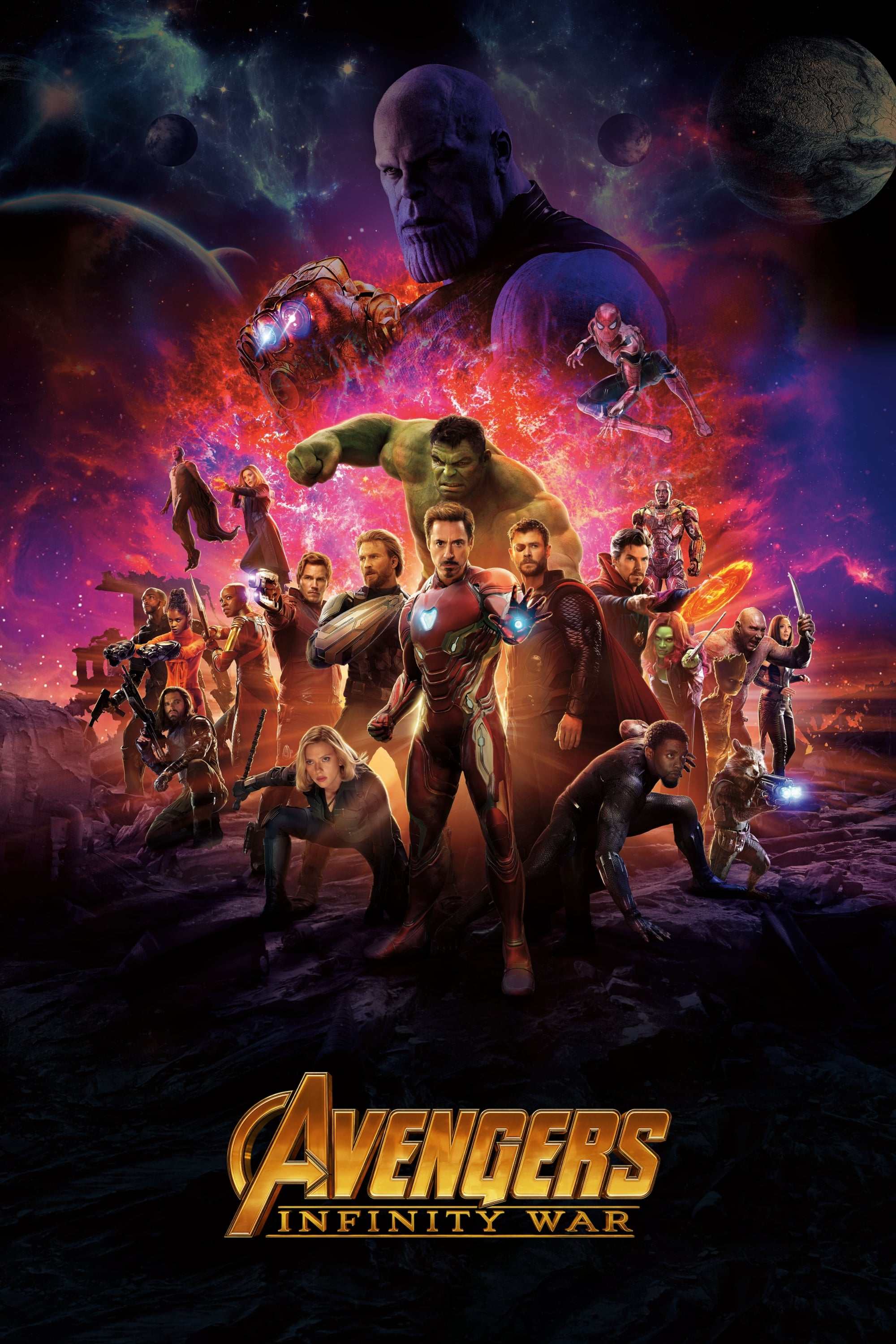 Avengers Infinity War Streaming