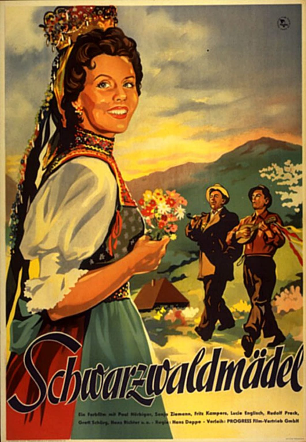 The Black Forest Girl (1950)
