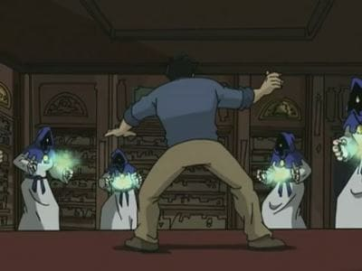 Jackie Chan Adventures Season 2 :Episode 34  The Chan Who Knew Too Much