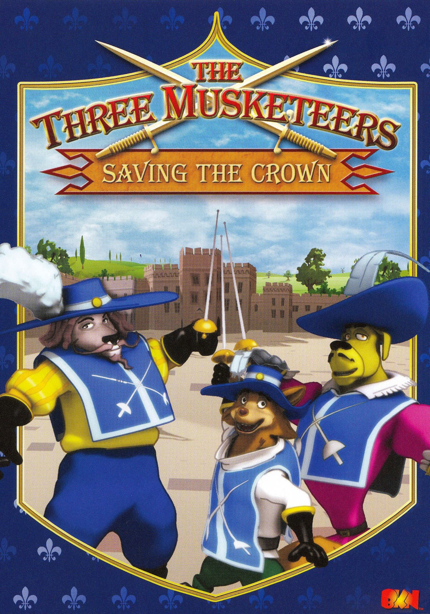 Ver The Three Musketeers – Saving the Crown Online HD Español (2007)