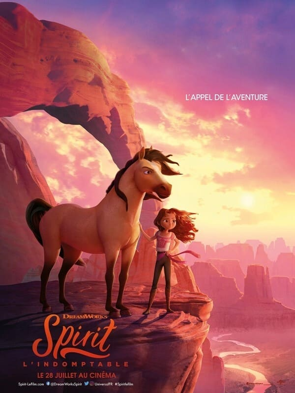 Poster and image movie Spirit Untamed