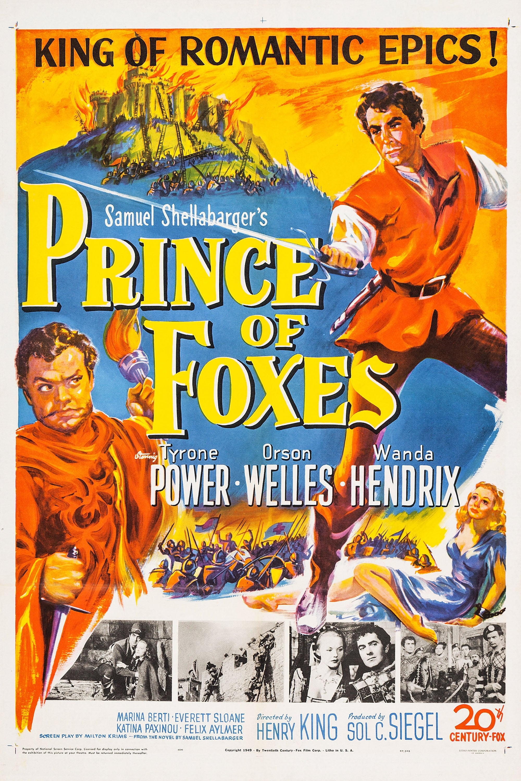 Prince of Foxes (1949)