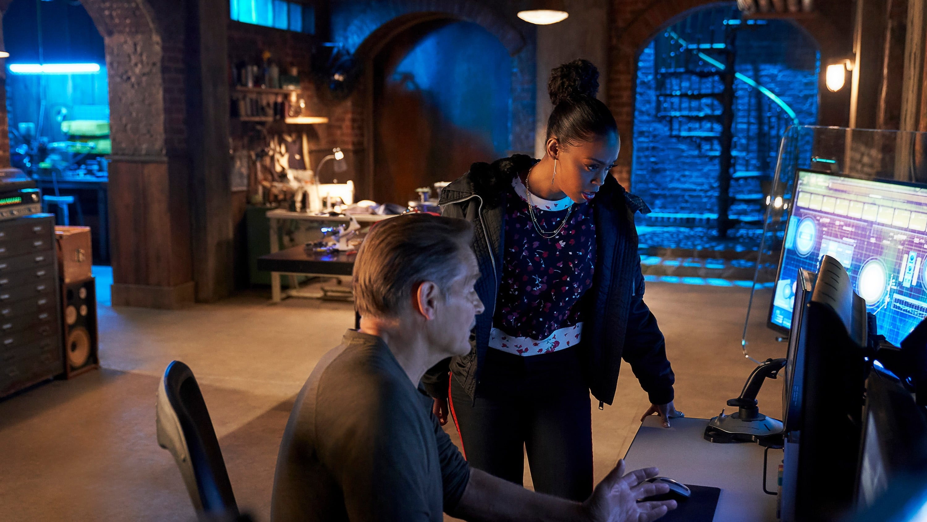 Black Lightning Season 2 :Episode 13  The Book of Secrets: Chapter Three: Pillar of Fire