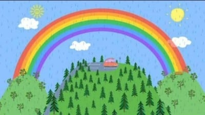 Peppa Pig Season 3 :Episode 2  The Rainbow