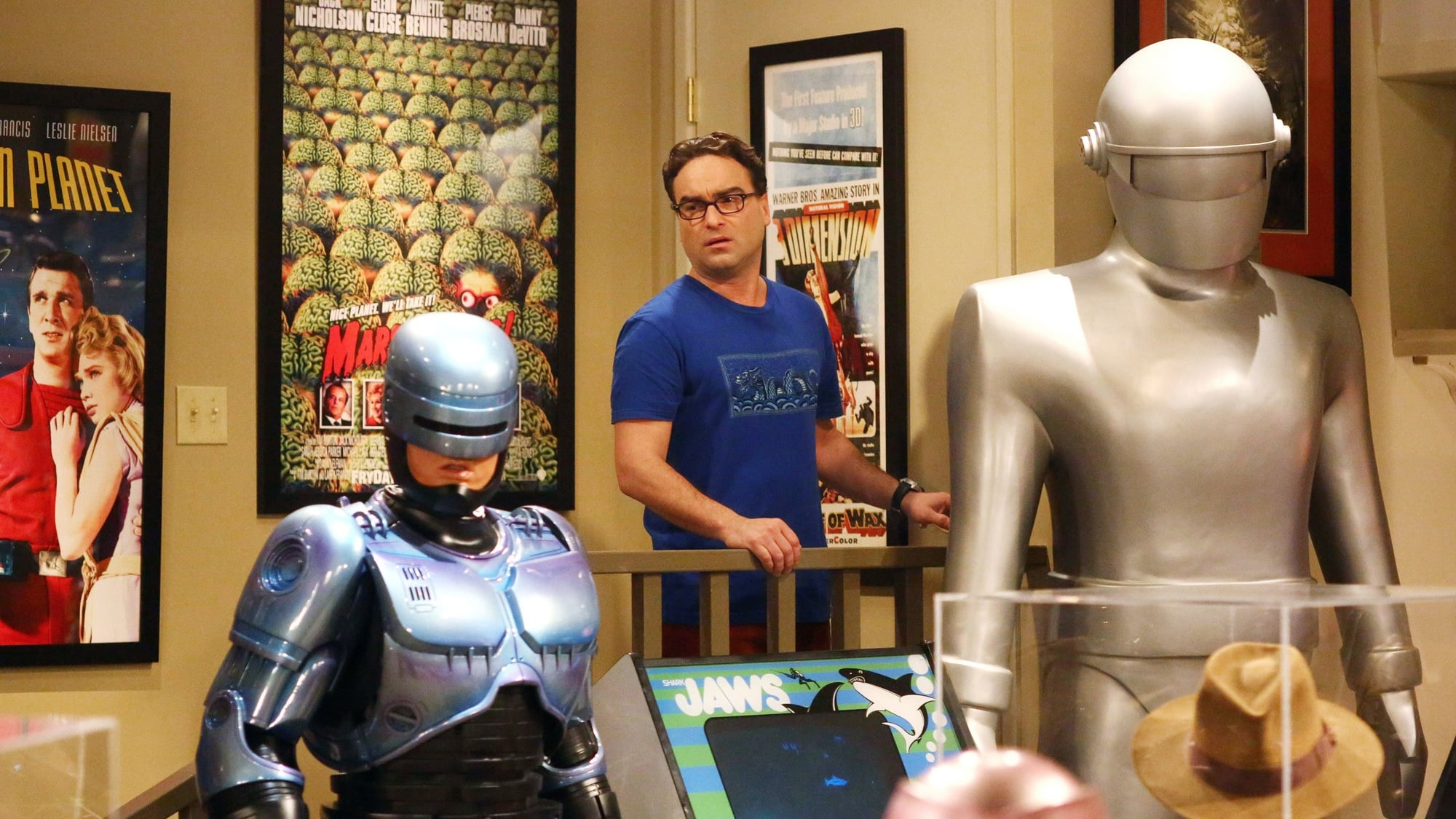 The Big Bang Theory Season 8 :Episode 7  The Misinterpretation Agitation