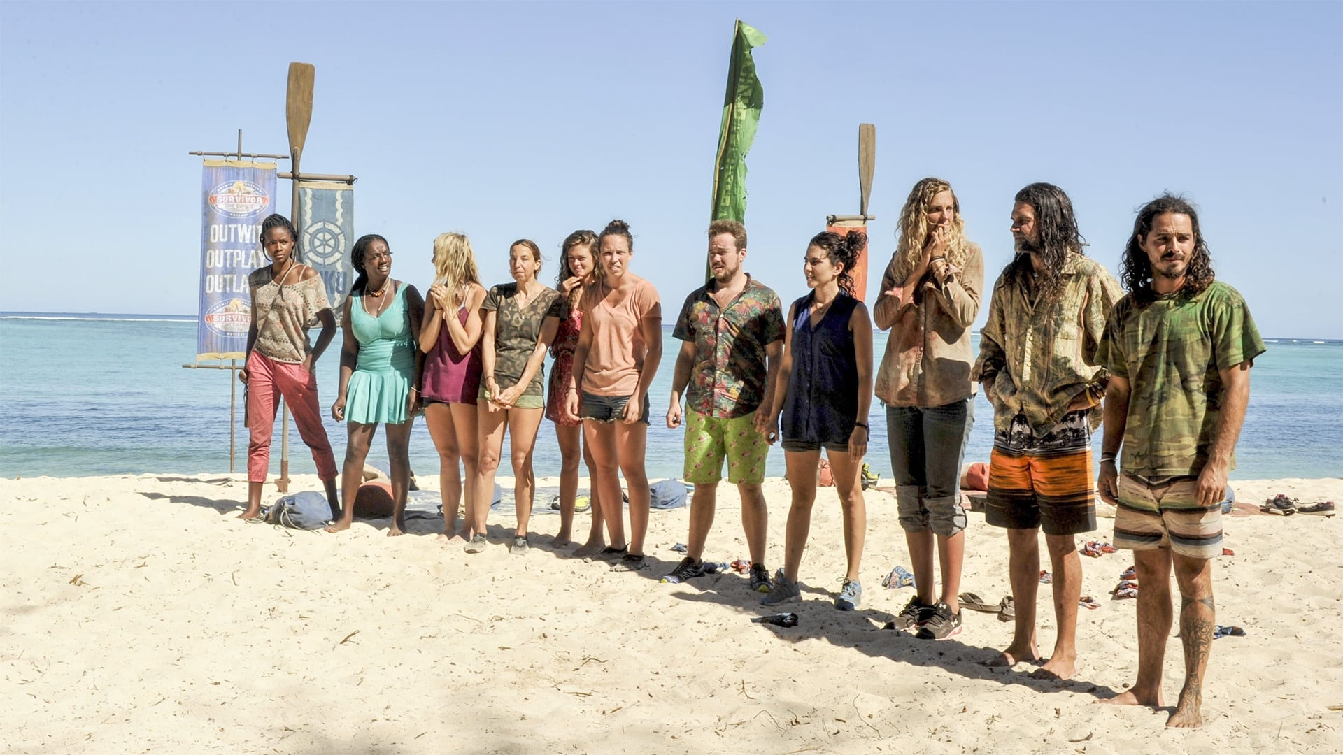 Survivor Season 34 :Episode 7  There's a New Sheriff in Town