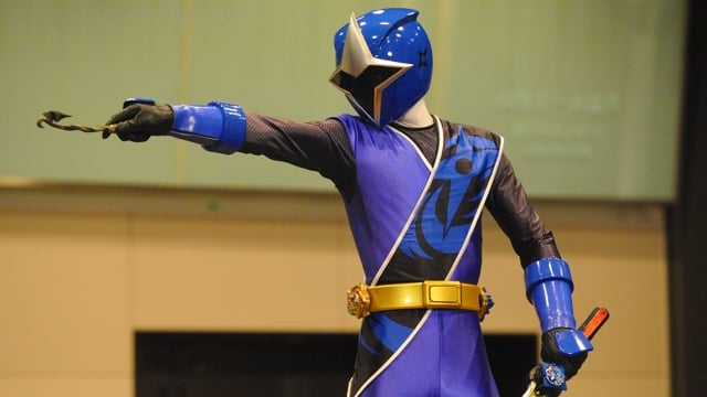 Super Sentai Season 39 :Episode 9  Ninjutsu VS Magic, a Big Battle!
