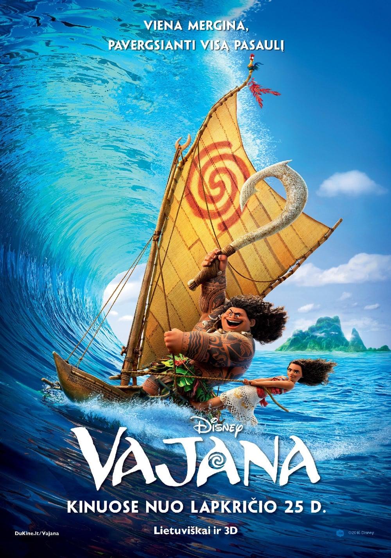 Vajana / Moana (2016) žiūrėti online